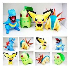 Paper pokemon to brighten up your day!!!!! These ones were shared by @pokemonrealm.  Who is your fav starter????  ... #pokemon #nintendo #crafts #papercraft #cute #geek #nerd #gamer #gaming #cosplay #selfie #anime #videogames #geeky #dork #otaku #nerdy #games #gamergirl #awesome #love #nerdlife #geekgirl #geeklife #geeks #fun #shiny #pokémon #kawaii