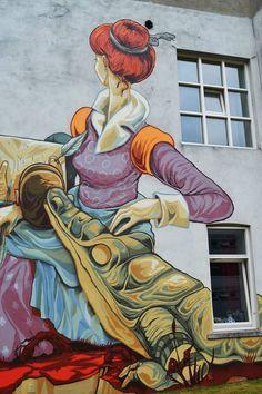 Rookie -The Weird- New Mural In Heerlen, Netherlands