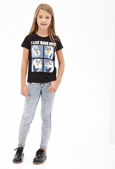 Warm Hugs Frozen Tee (Kids) | FOREVER21 girls - 2000082625