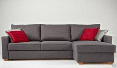 CORNER  SOFA BED  Roma  GREY