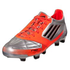 40e4c773c adidas F50 adizero TRX FG (Leather) - Metsilver Infrared Black Firm Ground