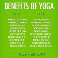 Some of the Benefits of Yoga