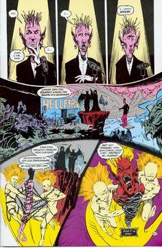 Gaiman, Neil y Kieth, Sam. Sandman #4 (1988). A Hope in Hell. Preludes & Nocturnes, p. 20.