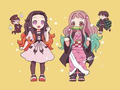 🌹Ai No Kokuhaku🌹 - Un día con Hanako 2 Anime Chibi, Anime W, Fanarts Anime, Anime Demon, Kawaii Anime, Anime Characters, Slayer Meme, Demon Slayer, Otaku Anime