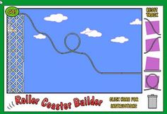 fun online applications that you can use to make roller coasters and learn a little about physics along the way. Students will choose track heights, shapes, and dips to create the ultimate thrill ride that is not too scary or dangerous.