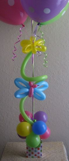 If we get really crafty with the balloons we could make butterflies