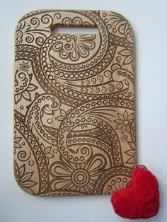 Personalized Cutting Board Damasc Style от CaimanCutting на Etsy