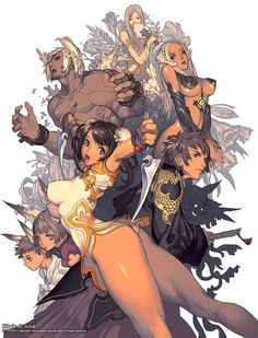 Blade & Soul Characters