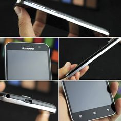 Lenovo A806 Smartphone - 5 Inch 720P Screen, Octa Core CPU, 2GB RAM, Dual Band Wi-Fi, 4G, Hot Knot