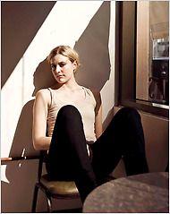Greta Gerwig by Dave Lauridsen
