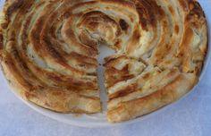 Cheese burek- with homemade phyllo dough