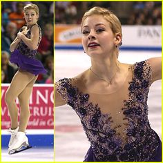 Gracie Gold won the bronze medal at Skate America 2014