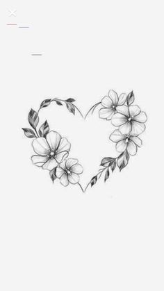 Trendy heart tattoo designs with flowers Henna Tattoo Designs Simple, Mandala Tattoo Design, Heart Tattoo Designs, Flower Tattoo Designs, Rose Heart Tattoo, Rose Tattoos, Body Art Tattoos, Gun Tattoos, White Tattoos
