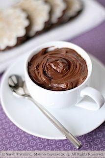 Egg free quark chocolate mousse recipe