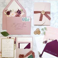"Papertree Studio on Instagram: ""A lovely fall color palette 🌿 photo @laurelandelmevents #fallwedding #goldfoil #decklededge #waxseal #berry #dustyrose #papertreestudio…"" Wedding Invitation Inspiration, Beautiful Wedding Invitations, Fall Color Palette, Paper Tree, Wedding Events, Weddings, Dusty Rose, Fall Wedding, Berry"