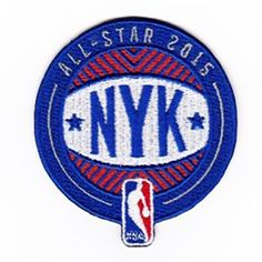 2015 NBA All Star Game Patch in New York City Knicks (Madison Square Garden)