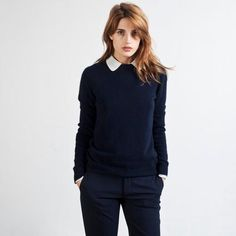 Cashmere Crew from Everlane.  Classic.