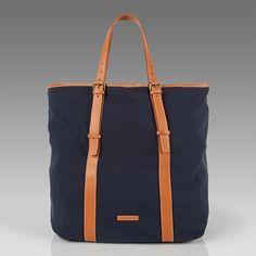 Paul Smith - Navy Kenver Tote Bag
