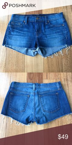 Jean shorts Cut off jeans shorts with stretch; style number 1046C006 Karma J Brand Shorts Jean Shorts