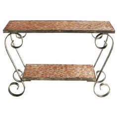 Amber Mosaic Console Table | Pier 1 Imports