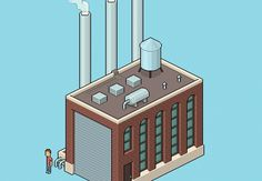 How to Create an Isometric Pixel Art Factory in Adobe Photoshop  Design Envato Tuts Design & Illustration