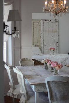Pretty & simple. What passes for Shabby Chic is usually romantic country.