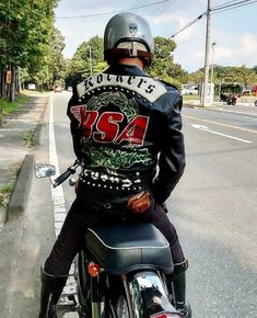 Jacket Men, Leather Jacket, Bsa Motorcycle, Cafe Racing, Biker Gear, My Ride, Rockers, Boy Or Girl, Motorcycles