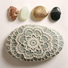 crochet stone