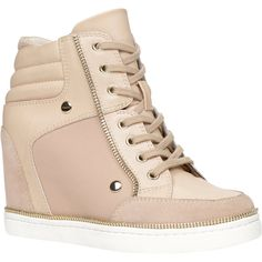 ALDO Ciambave sneakers (115 CAD) ❤ liked on Polyvore featuring shoes, sneakers, bone, hidden wedge heel sneakers, high heel sneakers, aldo sneakers, high heel shoes and aldo footwear