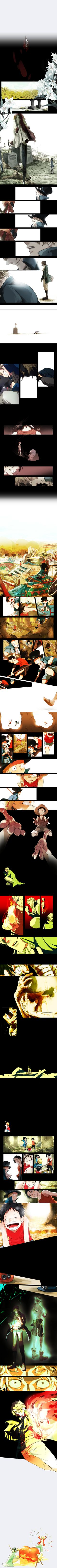 Tags: Anime, Fire, Sunflower, Grave, ONE PIECE, Monkey D. Luffy, Lily