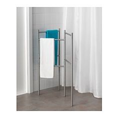 IKEA - GRUNDTAL, Towel stand, , , A flexible and mobile solution with many different functions - perfect where space is limited.