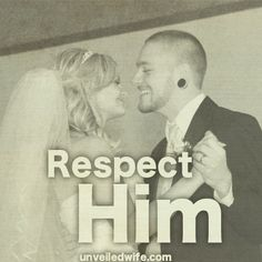 "How To Show Your Husband Respect --- Respect is such an important marriage topic! It is crucial for husbands and wives to respect each other. Without respect, a marriage is left vulnerable to ruin. Ephesians 5:33 ""However, each one of you also must love his [...]… Read More Here http://unveiledwife.com/how-to-show-your-husband-respect/ #marriage #love"