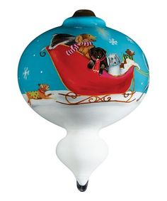 Look what I found on #zulily! Sled Dogs Ornament #zulilyfinds