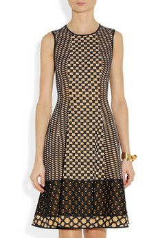 Day 5: Prints & Texture ~ a-line Missoni dress #PearShape #NewYearStyleChallenge Okay, not a pear, but I love this dress!