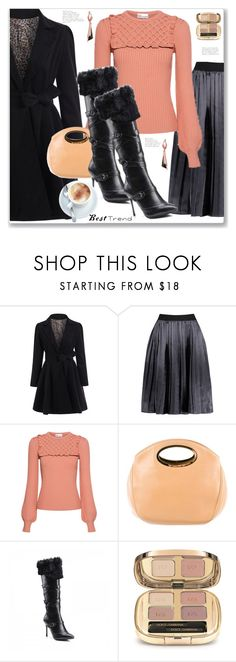 """Winter Work Wear style"" by jecakns ❤ liked on Polyvore featuring RED Valentino, Oscar de la Renta and Dolce&Gabbana"