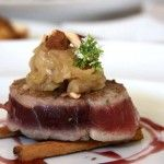 Filetto di tonno scottato alla cannella
