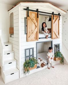 bunk bed by Aenny Chung . vogue_architect for .- bunk bed by Aenny Chung . vogue_architect for more, room furnishing bed - Girl Room, Girls Bedroom, Bedroom Decor, Farm Bedroom, Bedding Decor, Nursery Decor, Bedroom Modern, Quilt Bedding, Kids Bedroom Ideas