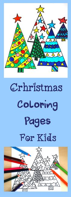 Christmas Free Coloring Pages for Kids