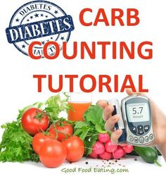 Counting carbs is necessary if you have type 2 diabetes but it's not as difficult as it seems. Here's a Diabetic Carb Counting Tutorial that will help make it easy and simple to understand.