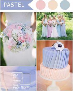 Colori #pastello per un #matrimonio a tema http://www.danielasposa.it/?p=6378