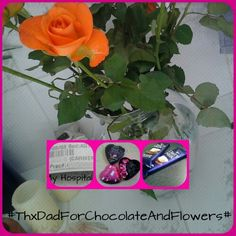 Thx Dad for your support and the flowers and the chocolate!!!! Love You MMMMMMMWWWWWWAAAÀAAHHHHH!!!