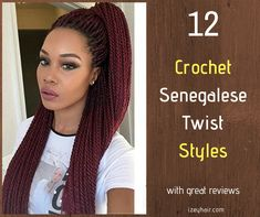 Types Of Hair For Crochet Styles – Sideswype.me types of hair for crochet styles – sideswypeme different types of crochet styles - Crochet Techniques Best Crochet Hair, How To Do Crochet, Crochet Hair Styles, Crochet Twist, Senegalese Twist Crochet Hair, Senegalese Twist Styles, Crochet Braids, Ponytail Hairstyles Tutorial, Sew In Weave