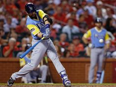 Tampa Bay manager Kevin Cash watched as the Rays piled up 16 hits. Tampa Bay Rays Baseball, Florida, Cardinals, Good News, Mlb, Sports, Hs Sports, Excercise, Sport