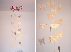 sweet butterfly decoration