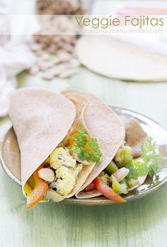 Veggie Fajitas - Fajitas Vegetarianas