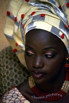 Makeup for dark skin Turbans, African Beauty, African Women, Skin Girl, African Head Wraps, Dark Skin Beauty, We Are The World, My Black Is Beautiful, Black Girls Rock