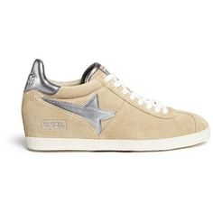 Leaving its gleaming mark on the streetwise circuit by way of metallic star appliqué, Ash crafted these Guiepard sneakers in suede for a luxe twist on routine …