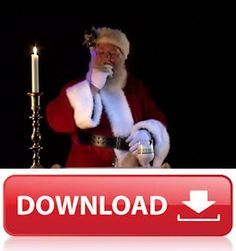 Virtual Santa Video (Download Only), Santa In The Window projection