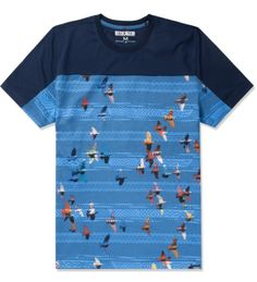 Staple Navy The Radiant Print T-Shirt | HYPEBEAST Store. Shop Online for Men's Fashion, Streetwear, Sneakers, Accessories