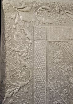 Longarm Quilting, Free Motion Quilting, Hand Quilting Designs, Quilting Ideas, Whole Cloth Quilts, The Quilt Show, Quilt Stitching, Textiles, Quilt Patterns